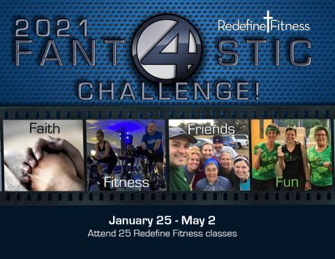 2021 Fantastic Four Challenge